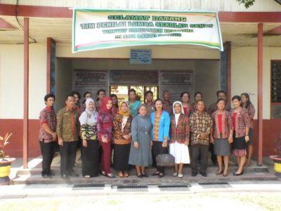 Dewan Guru Bersama Tim Penilai Sekolah Sehat Tingkat Kabupten
