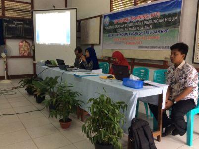 Sosialisasi Adiwiyata dari Sekolah Imbas SMPN 5 Ketapang