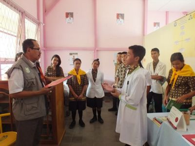Penilaian Sekolah Sehat Tingkat Provinsi Tahun 201718